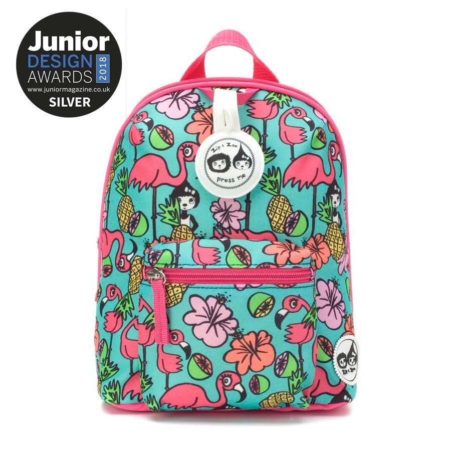 Babymel Mini Backpack & Safety Harness/reins Age - Flamingo By Mothercare Philippines.