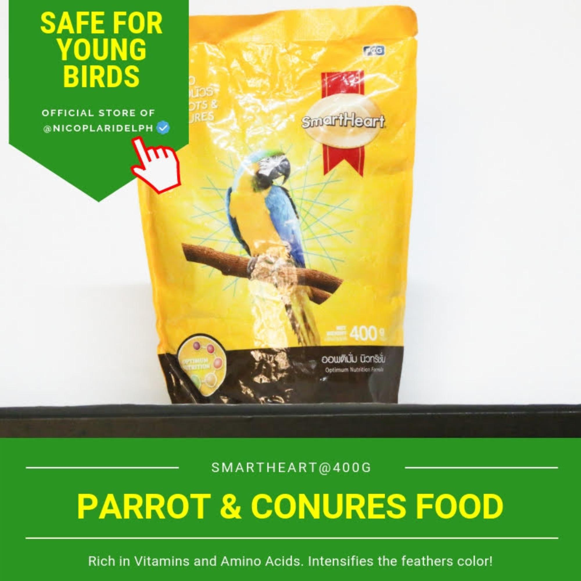 Smartheart Parrot And Conures Food (400g) By Nicoplaridelph.