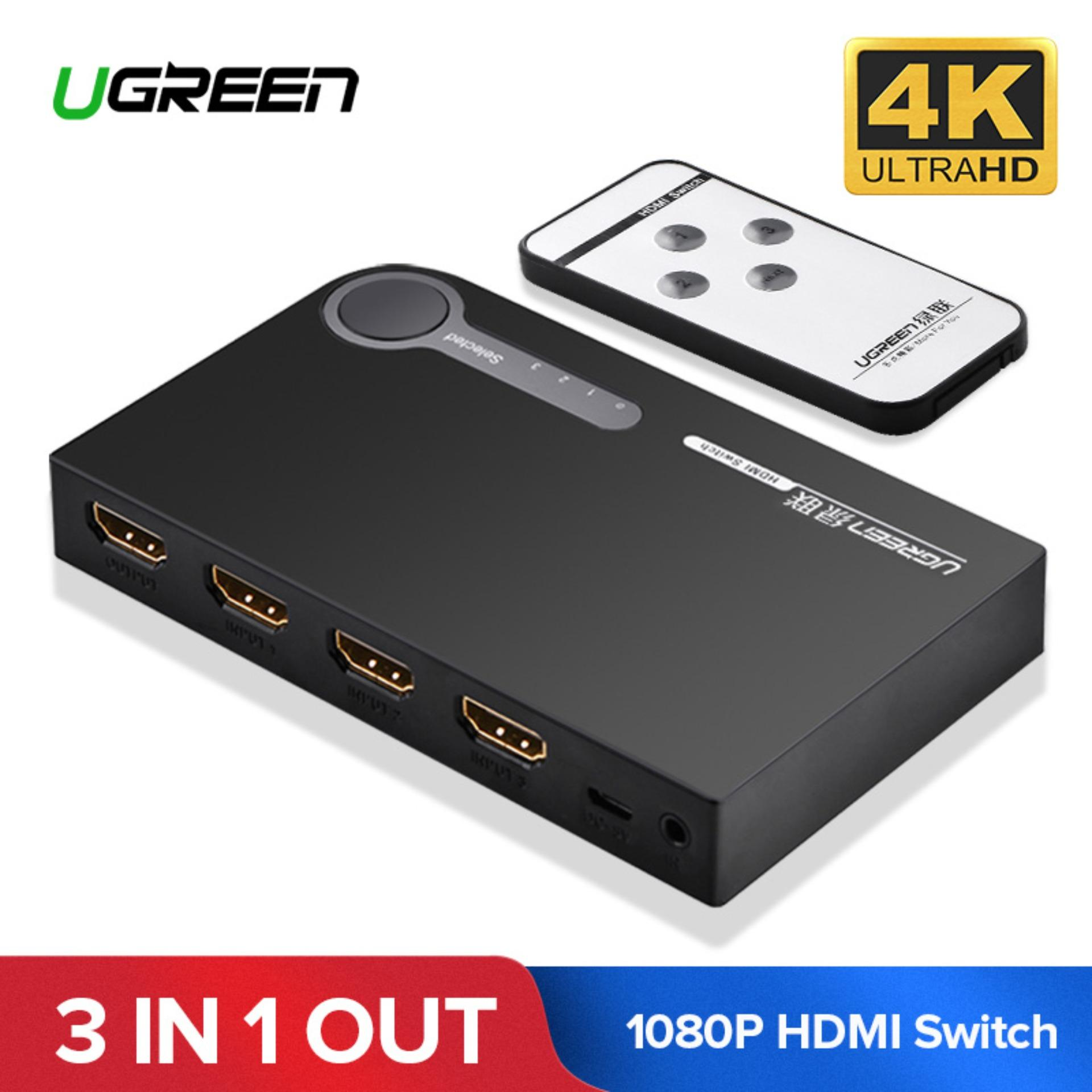 Computer Switches For Sale Pc Prices Brands Specs In Connect Up To Four Wired Pcs And Share Internet Printers Digital Ugreen Hdmi Splitter 3 Port Switch Switcher 1080p Input 1 Output 4k