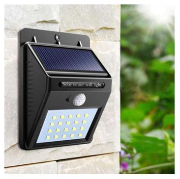 2019 Sensor Wall Light 20 Led Outdoor Waterproof Rechargeable Solar Power Pir Motion Garden Lamp By Los Ganadores.