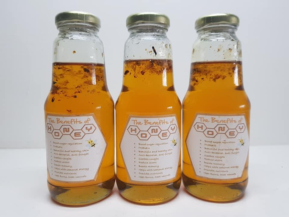Pure Raw Honey - Product From Silang,cavite And Quezon Province Honey Bee Farm (1 Bottle Of Approx 300 Ml Per Bottle) By Enciongs General Merchandise.