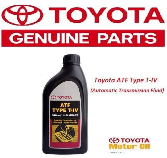 Toyota ATF Type T-IV ( Automatic Transmission Fluid ) 1L