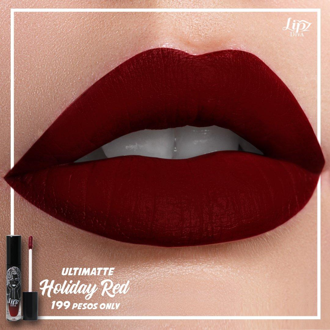 Lipz Diva Ultimatte Holiday Red Philippines