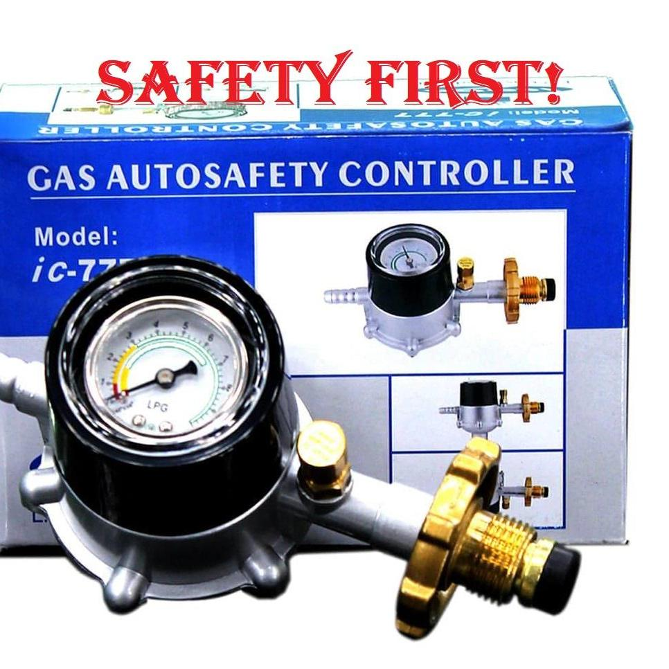M-Gas Auto Safety Controller Regulator By Pay Edlings General Merchandise.