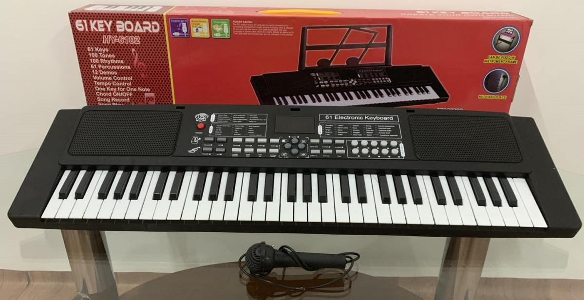 Electronic Piano without Stand with Small microphone