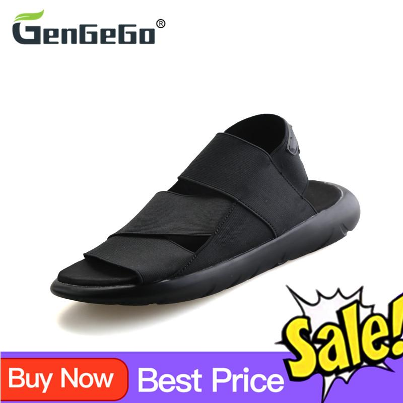 00533ea252b84 GenGeGo new roman youth Korean slippers summer men sandals beach sports and  leisure shoes men shoes