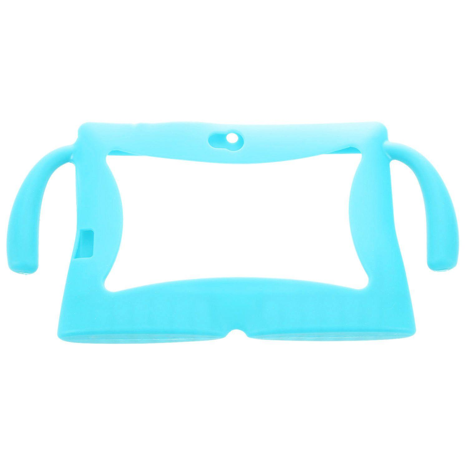 7 Inch Soft Silicone Gel Cover Case For Q88 Android Kids Children Tablet Pc A13 Sky Blue By Jwerlyday.