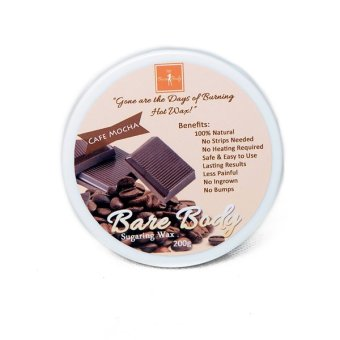 Bare Body Ph Sugar Paste Hair Removal 200g (Cafe Mocha) - picture 2