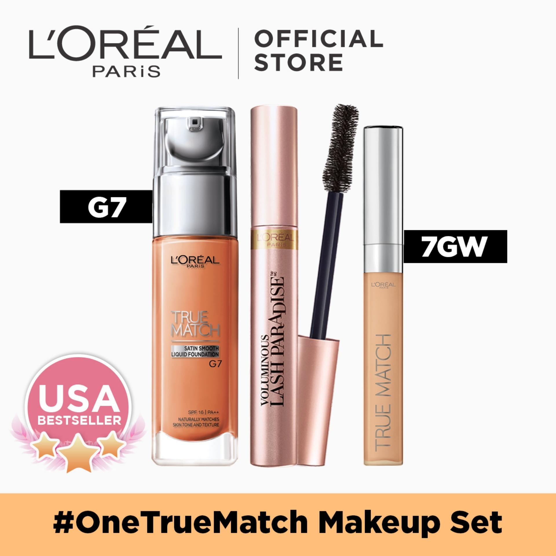 #OneTrueMatch Makeup Set by LOreal Paris Philippines
