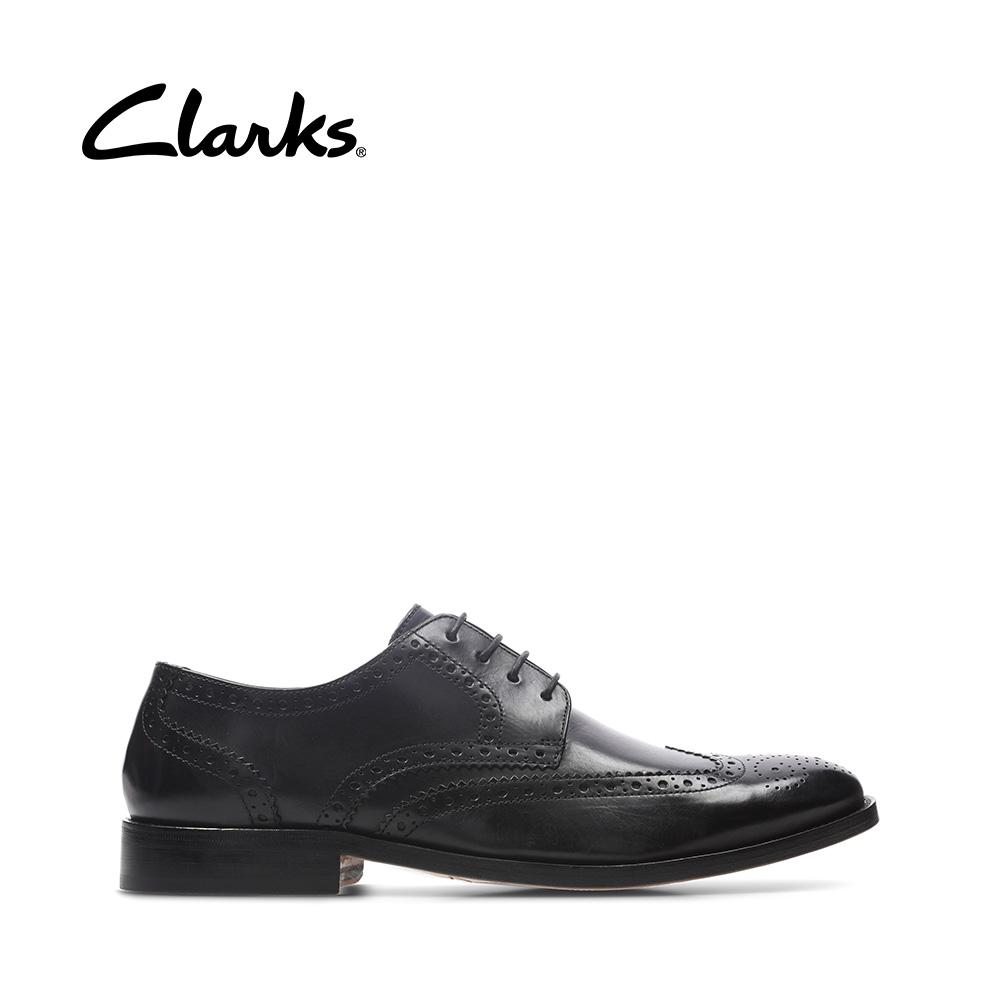 Calígrafo Trágico vertical  Clarks James Wing (Black Leather) | Lazada PH