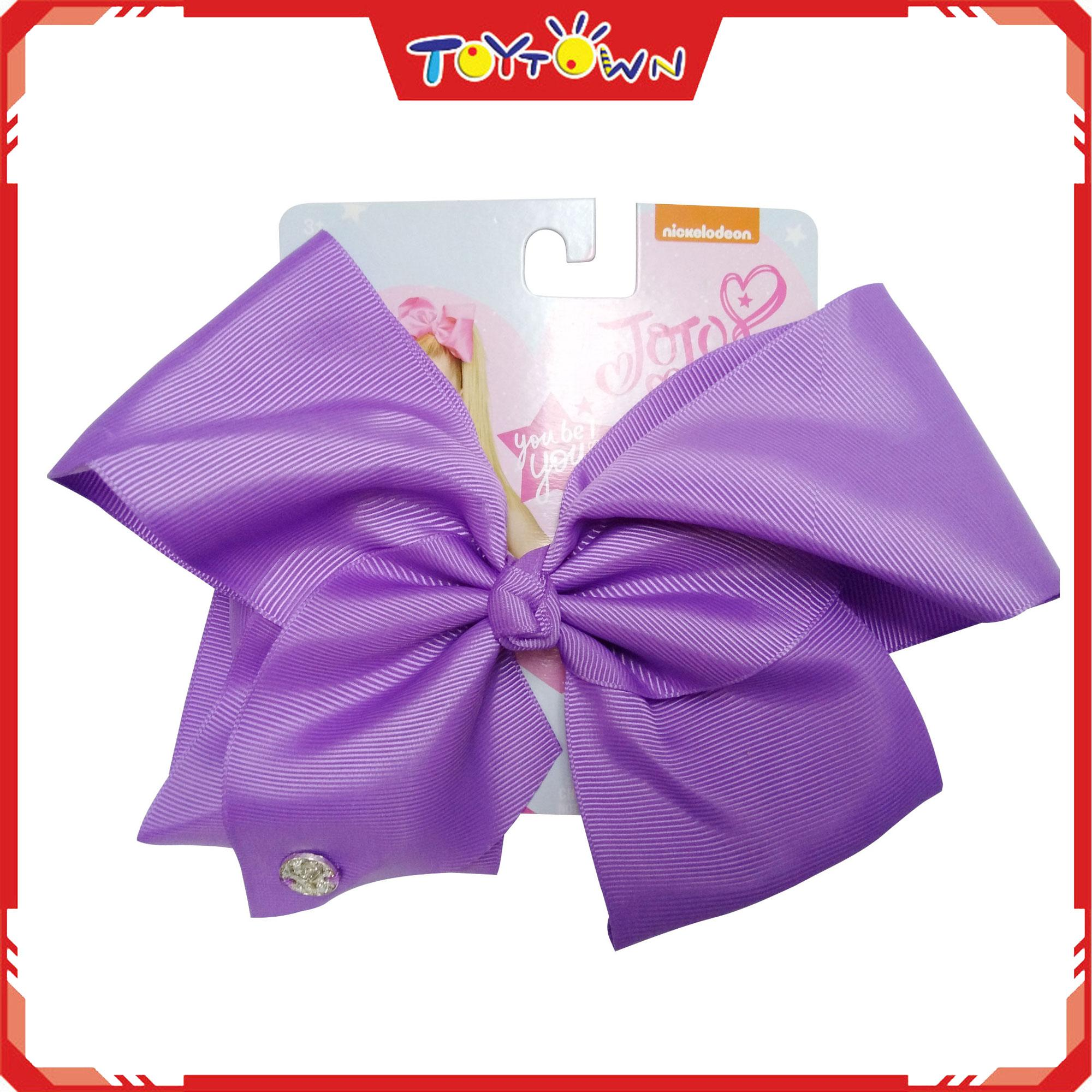 Jojo Siwa Neon Lilac Basic Bow By Toytown 2