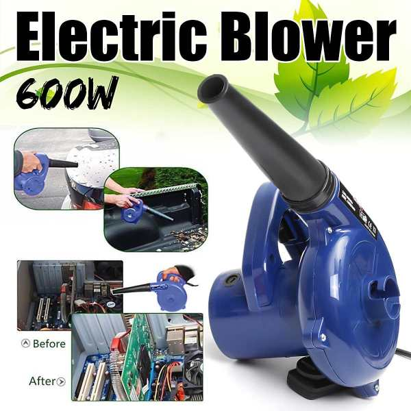 220V 600W Electric Handheld Blower Vacuum Computer Cleaner Electric Industrial Air Blower Dust Blowing Dust Collector For Office