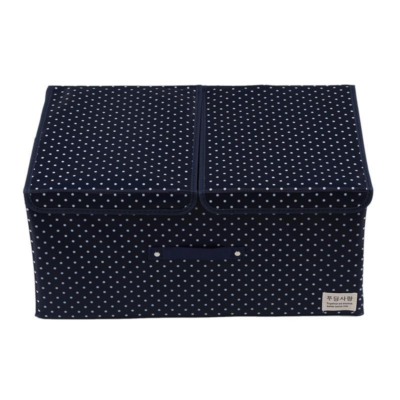 Oxford Waterproof Folding Storage Box Clothes Sundry ChildrenS Toy Books Underwear Organizer