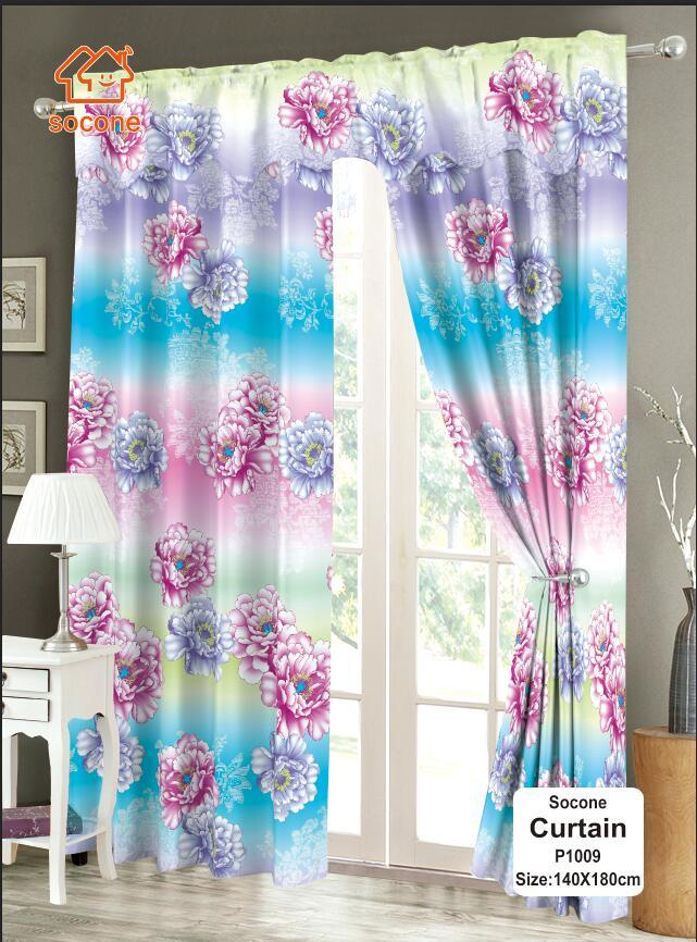 Fashion Curtain 1pc (p1009) By Socone Shop.