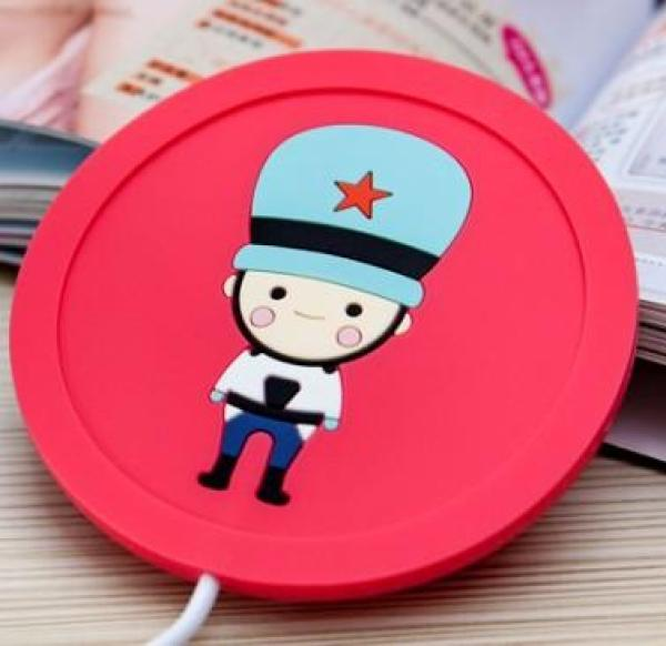 55 of Heating Constant Temperature Warm Coaster Heating Can Be Water Boiling Dormitory Base the High Temperature Portable Useful Product Household Cup