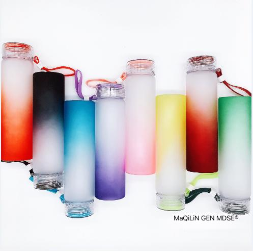 MQ#Frosted rainbow &Tumbler*