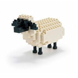 Nanoblock Sheep Block