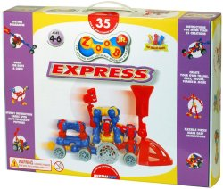 Zoob Jr Express Train Block Set