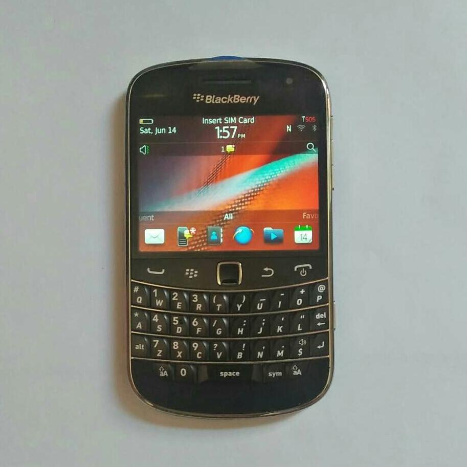 Blackberry 9900 touchtype made in mexico