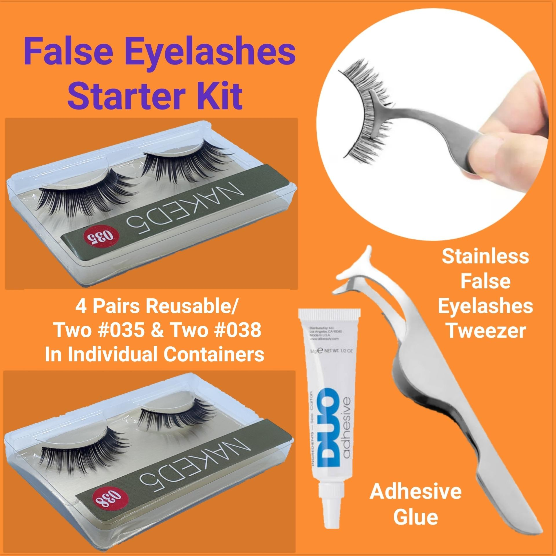 False Eyelashes Starter Kit Philippines