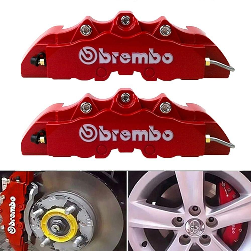 Brake System For Sale Automotive Brakes Online Brands Prices Related Parts Calipers Stainless Steel Sleeved 2pcs Abs Brembo Caliper Cover Red