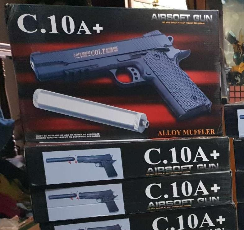 Toy C.10a+ Full Metal Alloy Bb Gun By Toyplanet.