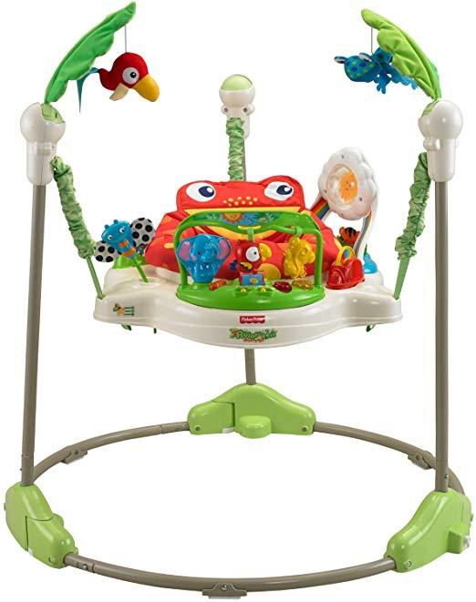 Musical Rainforest Jumper Swing First Step Baby Walker Toddler Chair By Finelife.