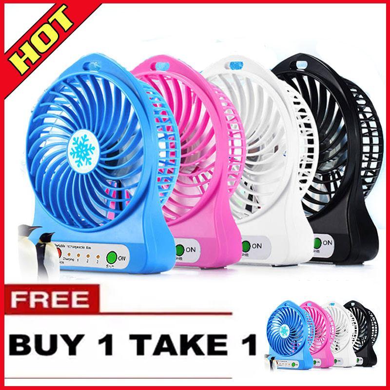 Buy 1 Take 1 Mini Portable Electric Fan Usb Mini Electric Fan Electric Fans  Mini Portable Usb Fan Portable Rechargeable Mini Fan Mini Desk Fan