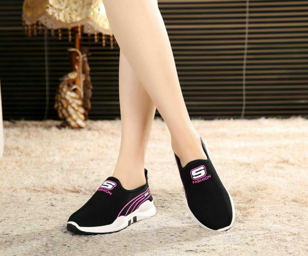 b9c0a9a0ce QINGSHUI Fashion Women Sneakers Comfortable Sport Running Shoes Women  Casual Shoes- intl
