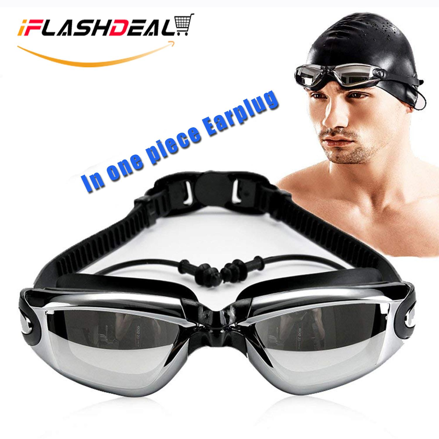 93b73062887c iFlashDeal Swimming Goggles Swim Goggles for Adult Men Women Youth Kids  Child Mirrored   Clear Anti