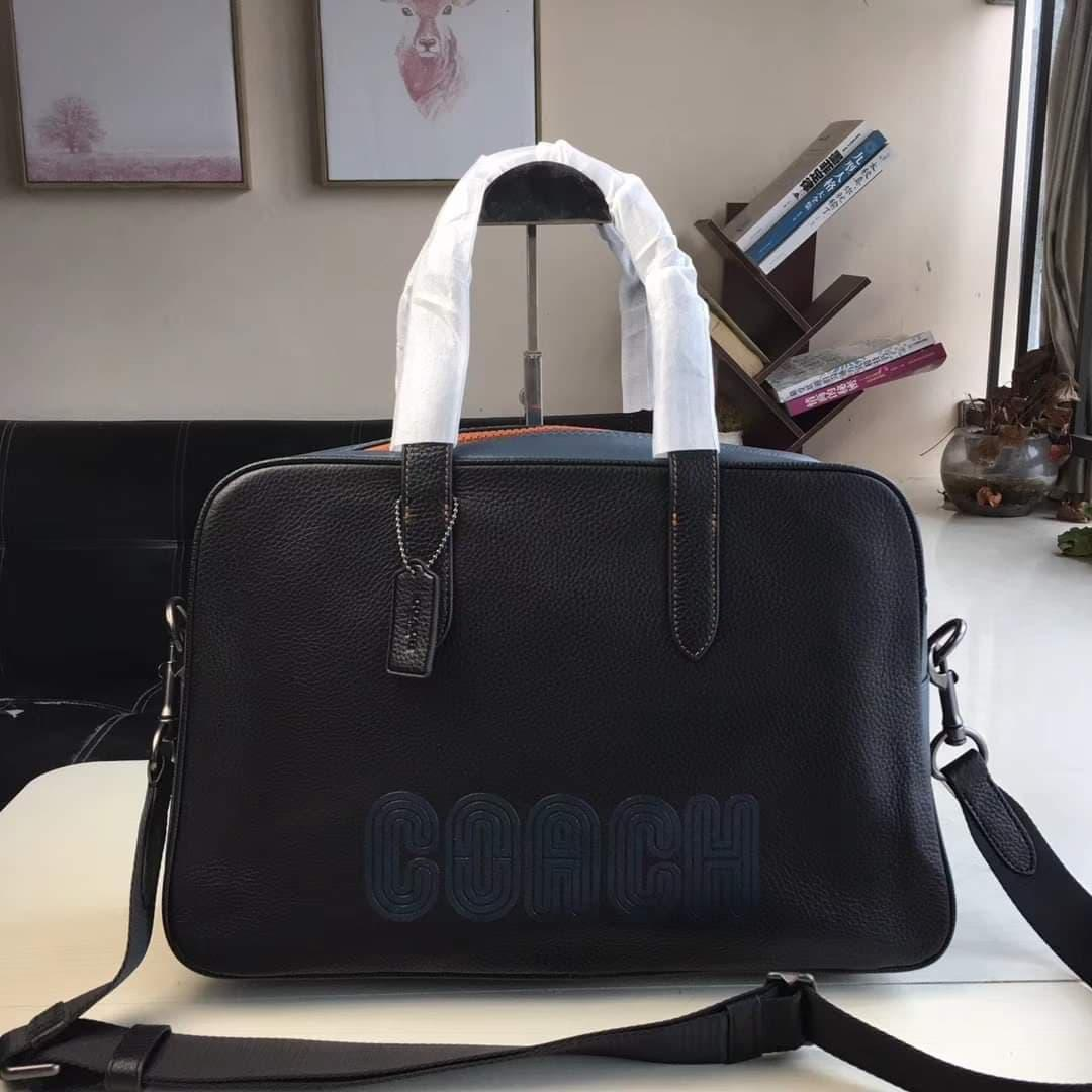 a93f99cf Authentic Coach Metropolitan Soft Carryall With Patch - Black