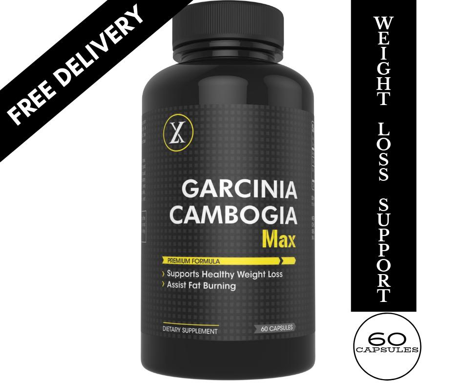 Garcinia Cambogia Max Natural Healthy Weight Loss Supplement For Men Women Pure Extract Of Hca Burn Fat Boost Metabolism Natural Appetite