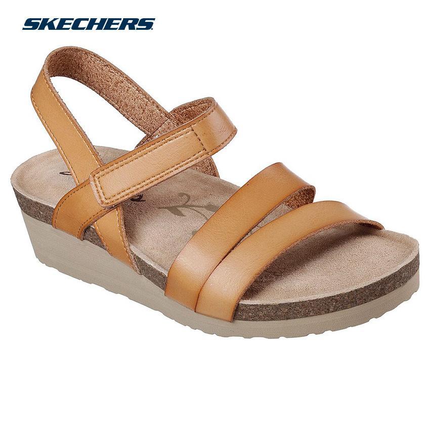 0dc3996d3b42 Skechers Women Troos - Simply Effortless Sandals - Fashion Footwear  40922-TAN (Tan)