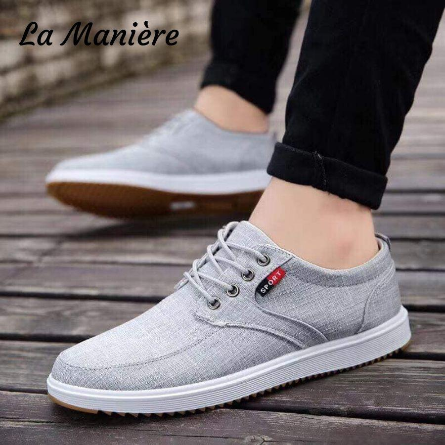 Slip On Formal Lace Korean Rubber Shoes For Men Jogging Walking Lace-up  Fashionable Anti-Skid Affordable Super Low Price High-quality Shoes Best  Gift
