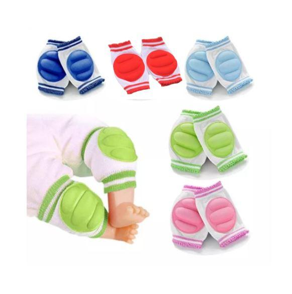 High Quality Baby Knee Pad Anti Slip Crawl Protector with Foam image on snachetto.com