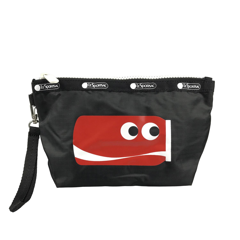 LeSportsac Coca-Cola Coke Can Shape Small Shoulder Bag Pouch New Genuine