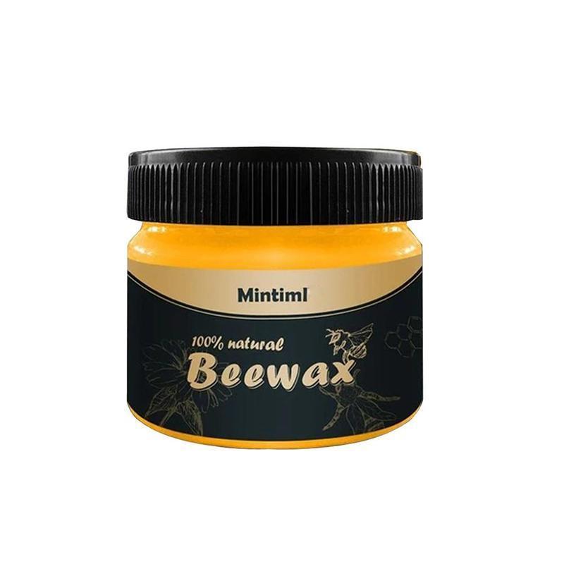 [I Love Home] Beeswax Furniture Care Polishing Waterproof Wood Wax Floor Seasoning Beewax Wax Wear-resistant F0V4