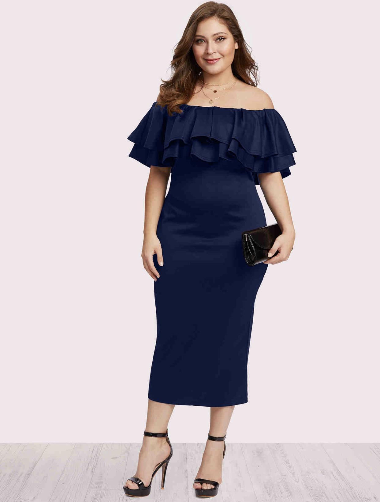 8916f3f75a21 Plus Size Dresses for sale - Plus Size Maxi Dress Online Deals ...