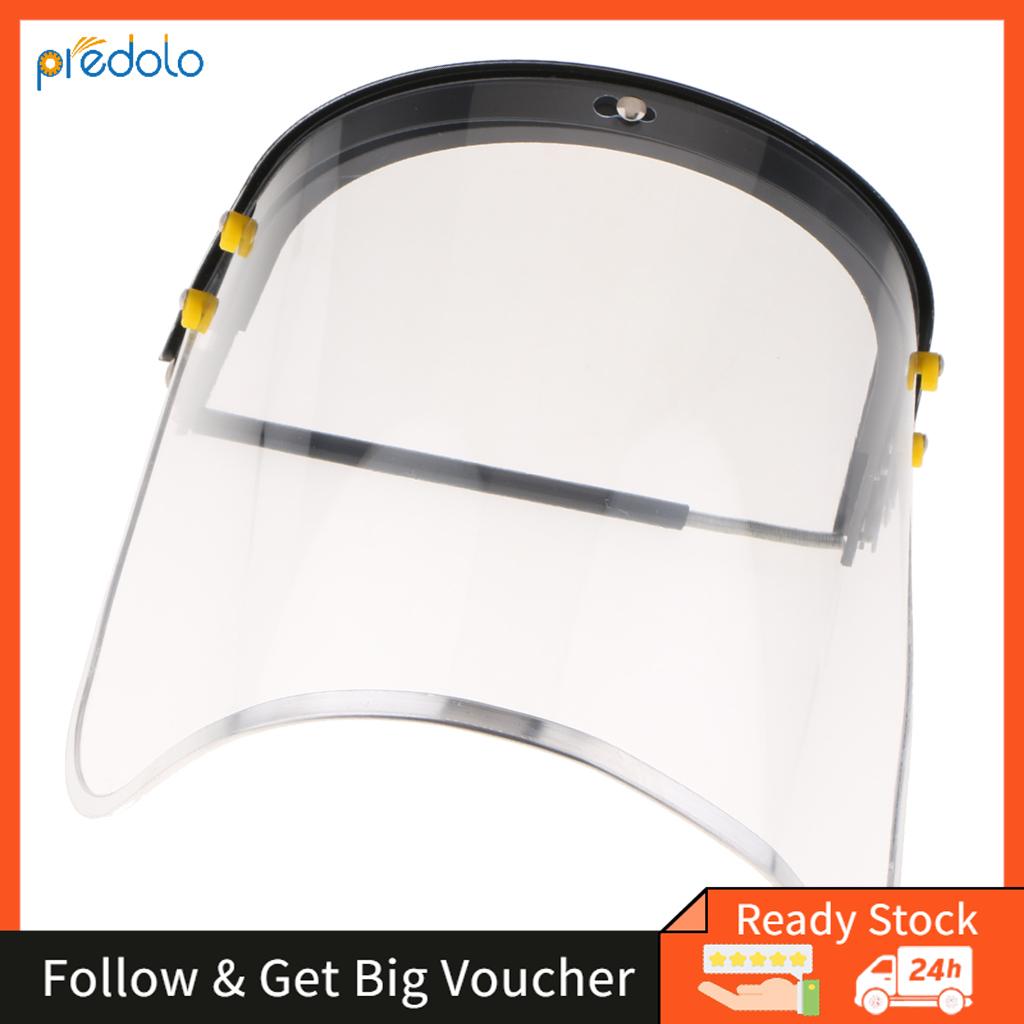 1.5mm Bionic Face Shield PC Material Anti-heat Face Shield PVC Face Screen