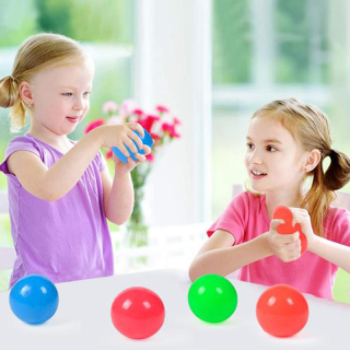 50% discount Stick Wall Ball Stress Relief Toys Sticky Squash Ball Globbles Decompression toy 2
