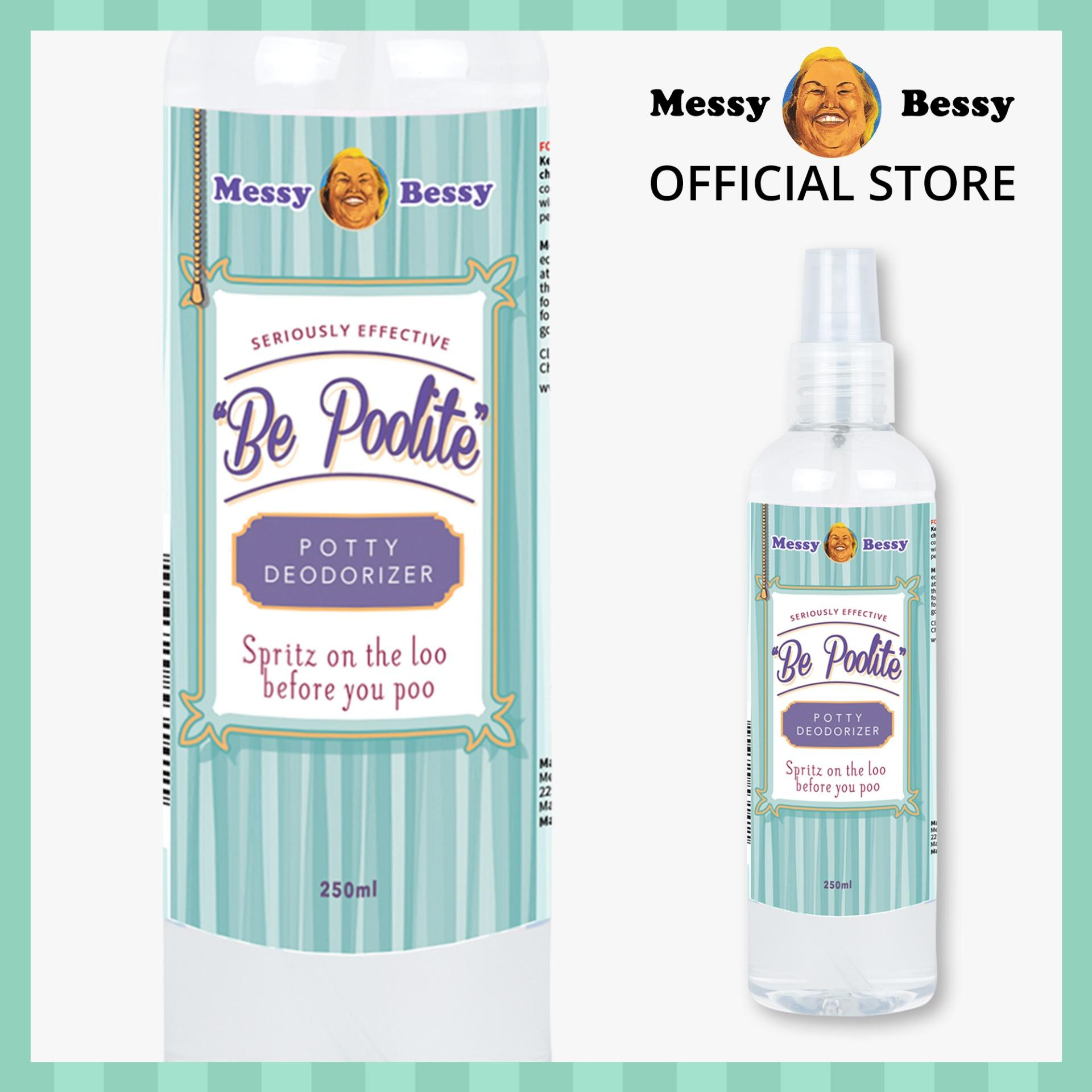 Messy Bessy Be Poolite Deodorizer 250ml By Messy Bessy Official.