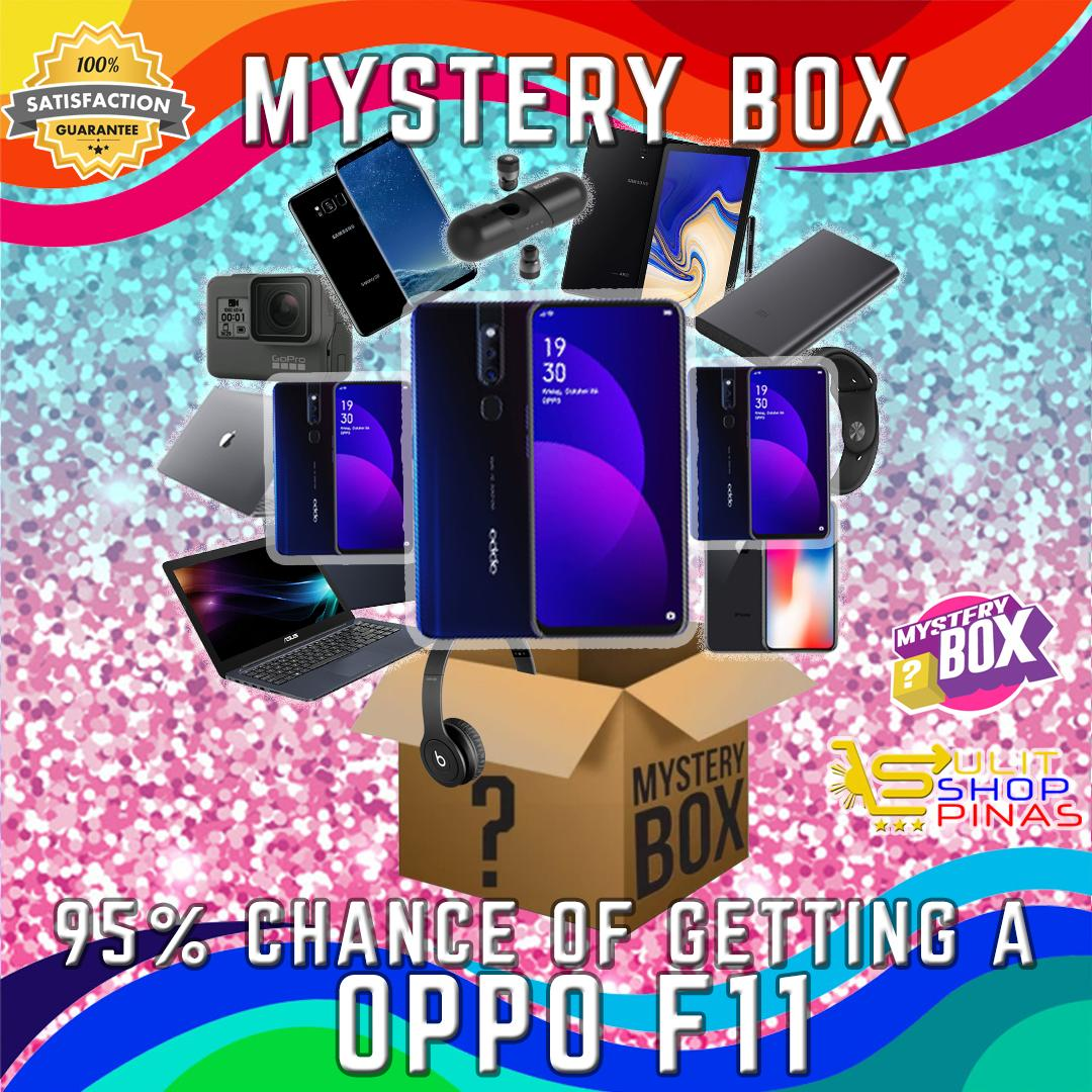Mystery Box Gadgets and Accessories, Get a Chance to Win Cool Prizes  including Oppo F11