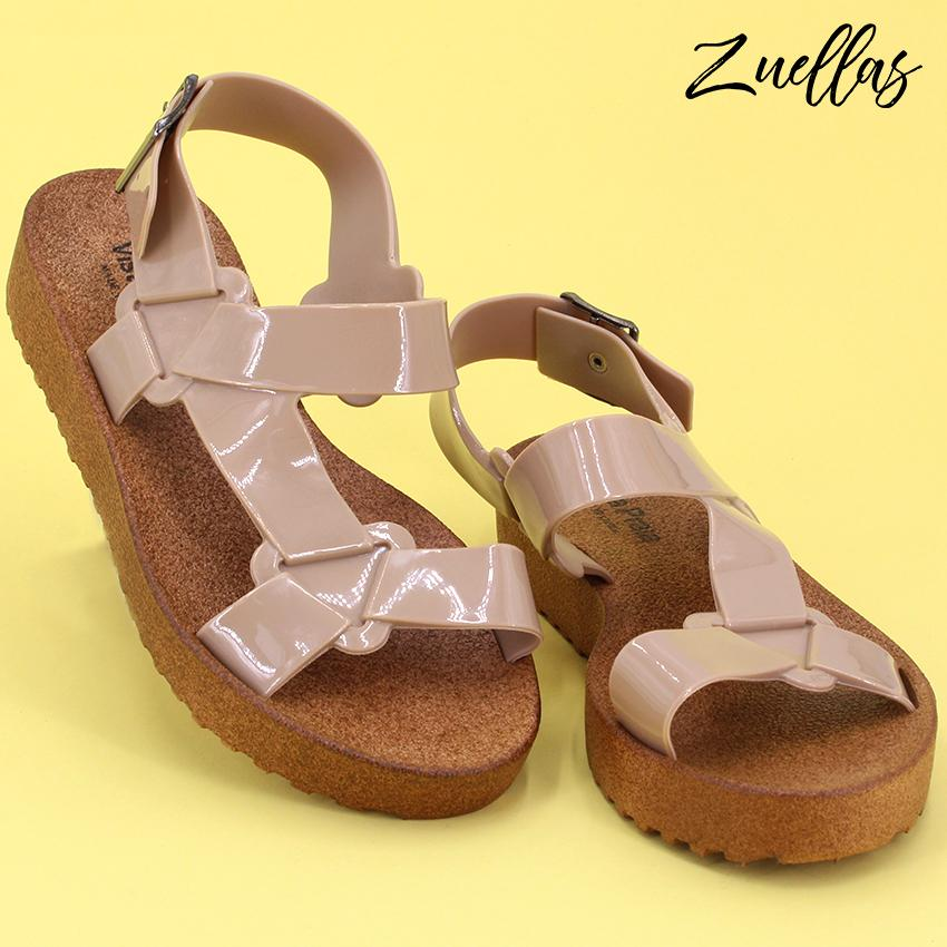 875062efa51 Zuellas Women s Zofia Open Toe Soft Casual Flat Sandals (LC-1802)