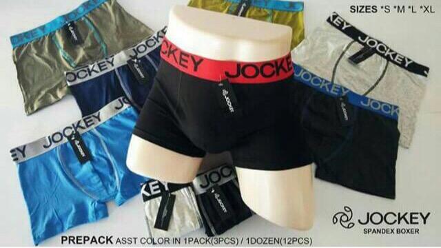 12 Pcs Underwear Jockey Cotton Boxer Brief For Men By Fit Fashion.