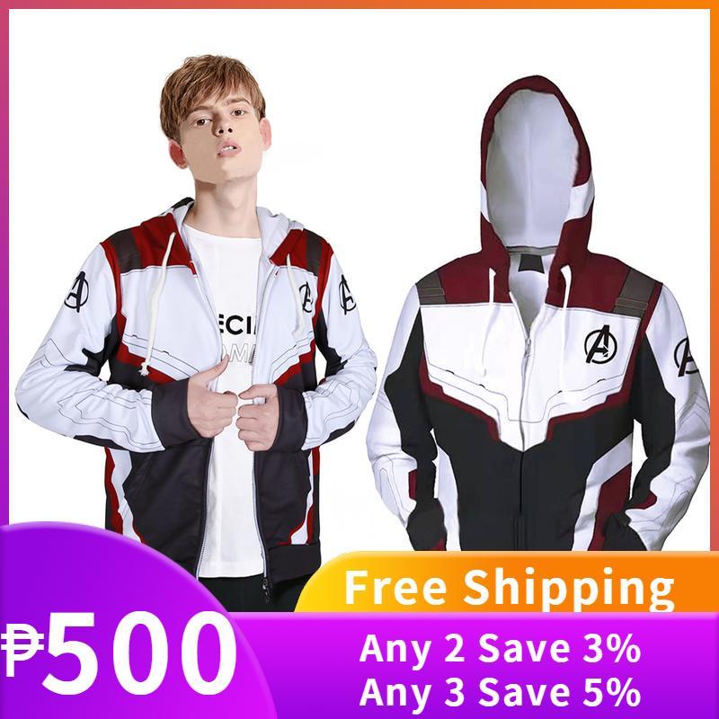 497f5c199f78 Hot Sale EN The Avengers 4 Endgame Quantum Realm Jacket 3D Print Zipper  Hoodie Superhero Cosplay