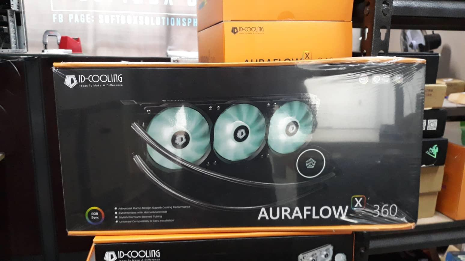 Id-Cooling Auraflow X 360 Rgb Aio By Softboxsolutionsph.
