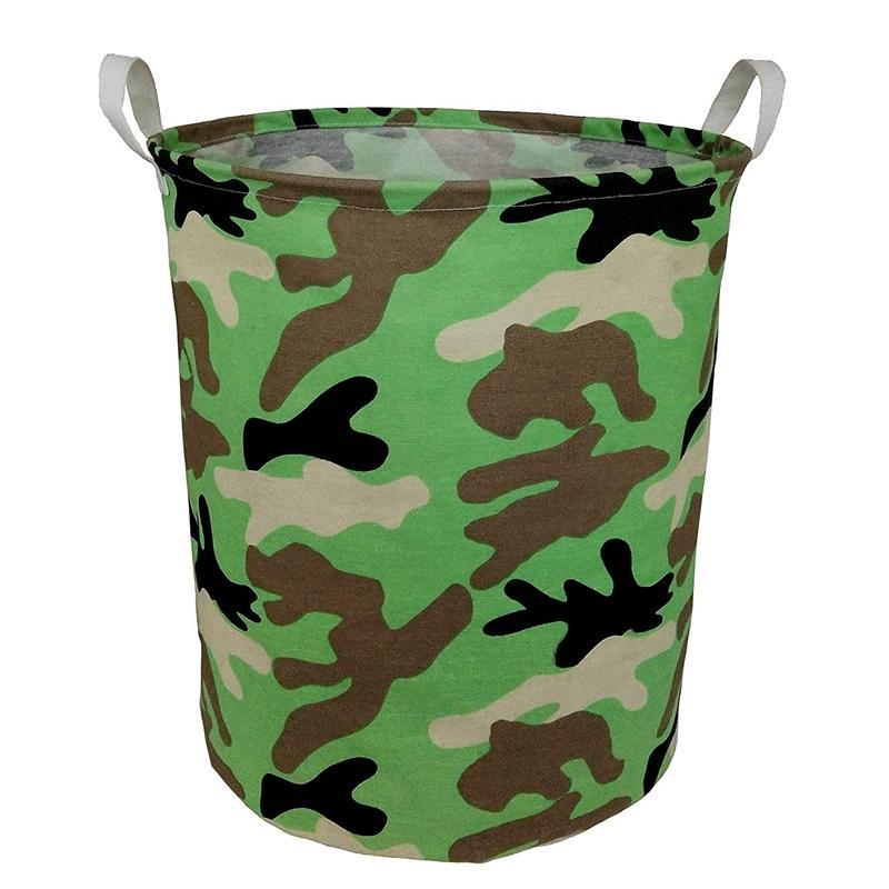 Canvas Storage Bin,Collapsible Laundry Basket-Waterproof Large Storage Baskets,Toy Organizer,Home Decor(Camouflage) Giá Cực Ngầu