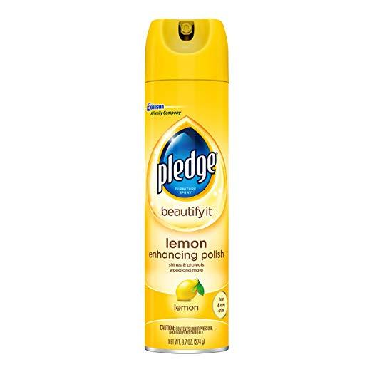 Pledge Lemon Enhancing Polish, 9.7oz By True Value