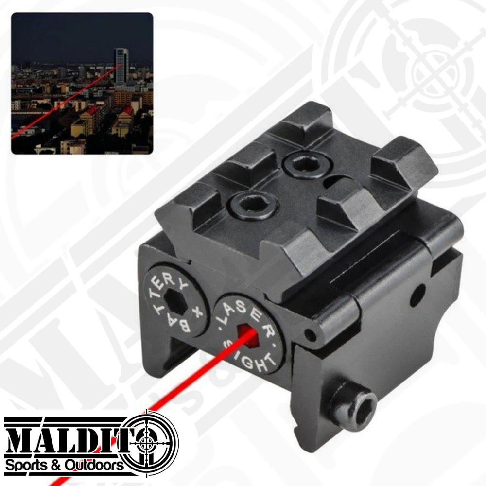 MS149 Model L2029 Tactical Compact Railed Red Laser Sight with 20mm Rail