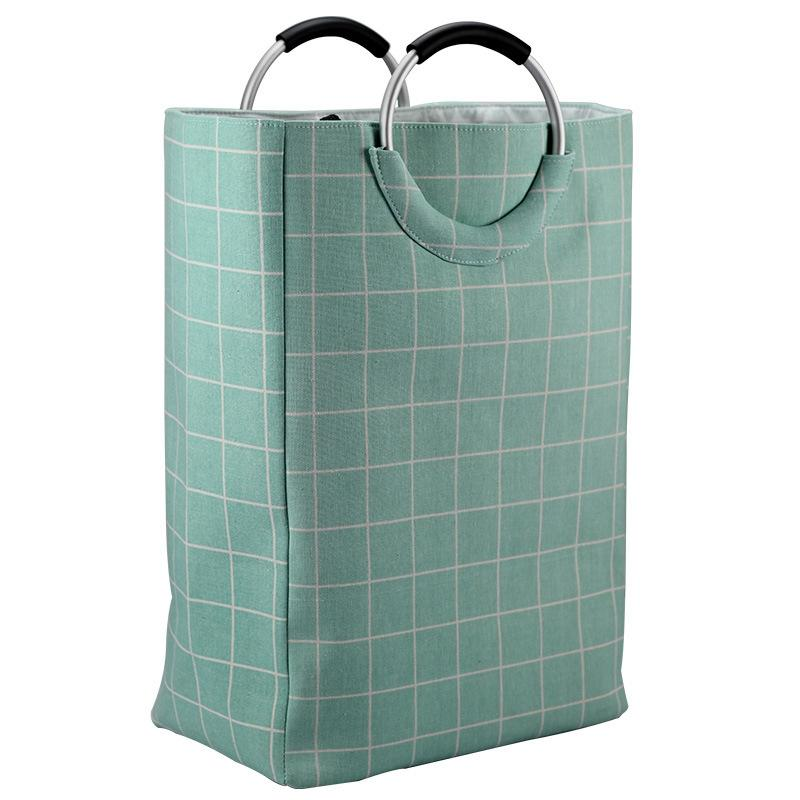 Laundry Organizer Bag Dirty Laundry Hamper Collapsible Home Laundry Basket Storage Bag Green